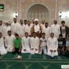 لقاء الشيخ مصطفى المرهون بجمع من المعتكفين في مسجد المصطفى