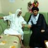 تغطية بالصور لاستقبال الشيخ عبد الحميد آل مرهون زائريه بعد نجاح العملية 2