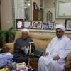 زيارة سماحة العلامة المحقق الحجة الشيخ عبد الله الخنيزي