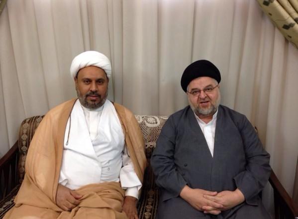 لقاء مع السيد جواد الشهرستاني