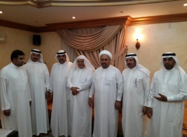 زيارة بعض رؤساء لجان العائلة المرهونية