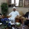 زيارة العلامة الشيخ الجواهري والعلامة الشيخ علاء الحسون