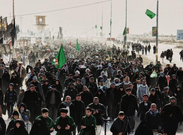 أكثر من ١٩ مليون زائر يشاركون في مسيرة أربعين الحسين