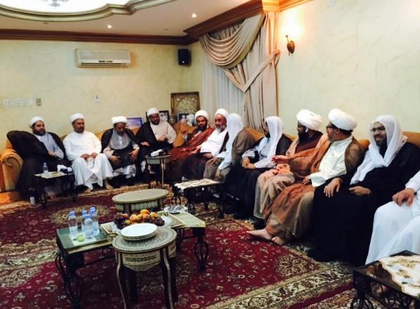 زيارة رمضانية أخوية من قبل الأفاضل في المجلس العلمائي في مدينة الدمام