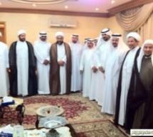 زيارة شعراء منتدى ابن المقرب لسماحة الشيخ مصطفى ال مرهون