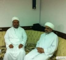 اجتماع تواصل مع سماحة العلامة الشيخ جعفر ال ربح القطيفي