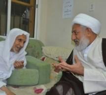تغطية بالصور لاستقبال الشيخ عبد الحميد آل مرهون زائريه بعد نجاح العملية 4