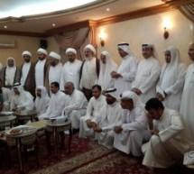 زيارة الحجة آية الله الشيخ غالب حماد
