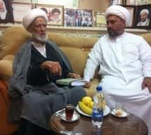 زيارة الشيخ أحمد آل عصفور