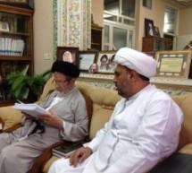 زيارة المحقق الكبير السيد محمد رضا الحسيني الجلالي