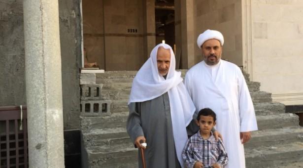 الشيخ عبد الحميد المرهون يتفقد تطور العمل في دار المصطفى١٤٣٦/٣/١٤هجري