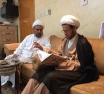 شرفنا سماحة العلامة الكاتب المحقق الشيخ ابراهيم الشهركاني