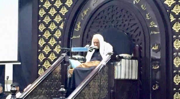 الشيخ عبدالحميد المرهون و ليلة علي الأكبر