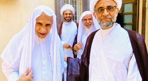 الشيخ الصفار يزور الشيخ المرهون